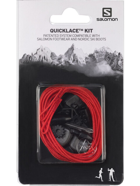 Salomon Quicklace Kit rød